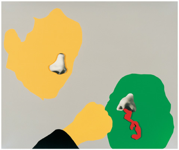 Noses and ears baldessari